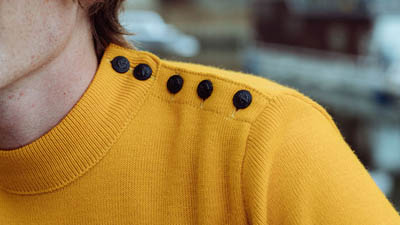 vrai pull marin pour homme jaune marin