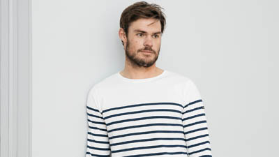 Marinière Marine Nationale pour Homme 100% Coton Le Minor Made in France